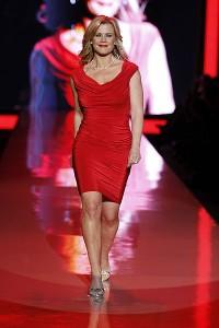 Tadashi Shoji red dress